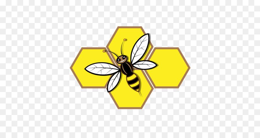 transparent cartoon honey bee clipart Honey bee Clip art