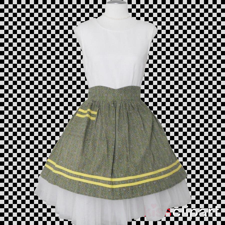 day dress clipart Cocktail dress Skirt