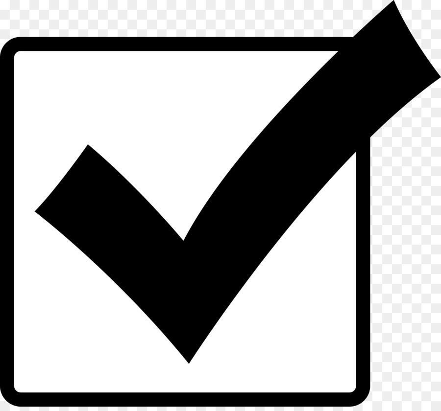 Check Mark Symbol clipart - Black, Text, Font, transparent