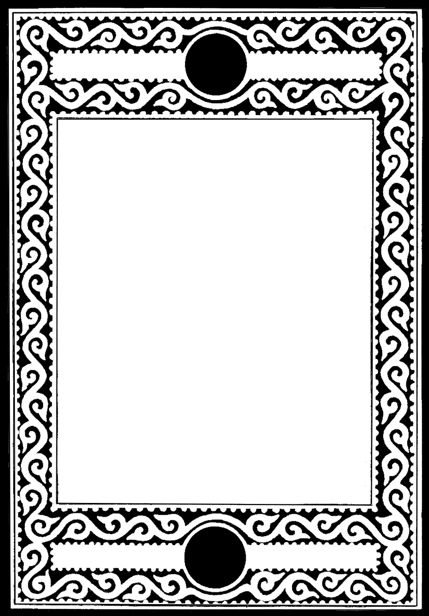 Black And White Frame Clipart Graphics