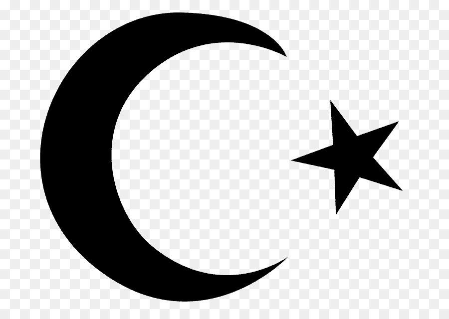 Moon Symbol clipart - Islam, Moon, Black, transparent clip art