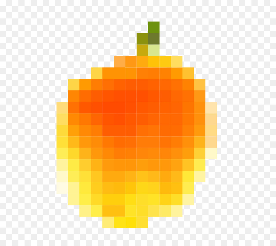 Pixel Art Clipart Pixel Peach Fruit Transparent Clip Art