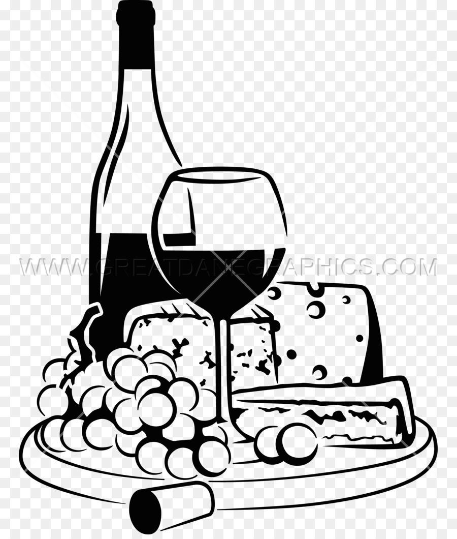 Cheese Cartoon Clipart Wine Cheese Bottle Transparent Clip Art