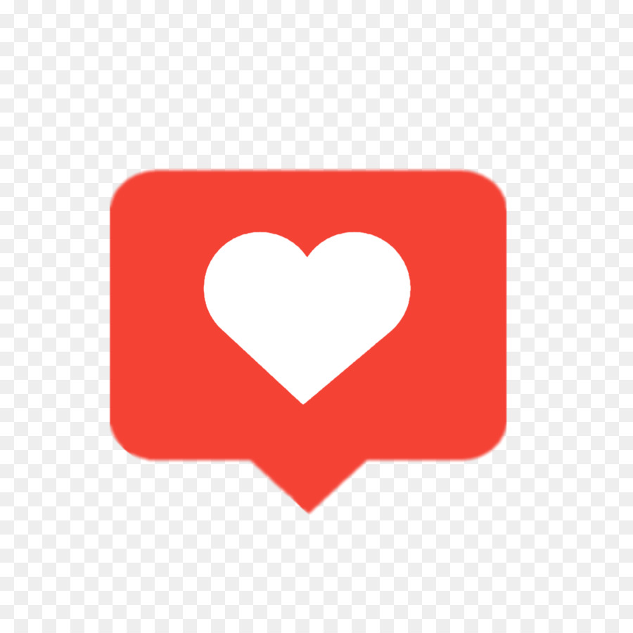 Instagram love. Background heart clipart red