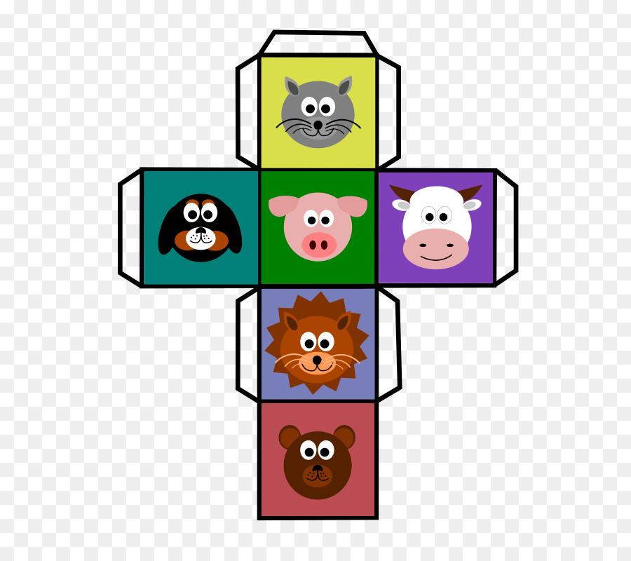 animals dice clipart Dice Game Clip art