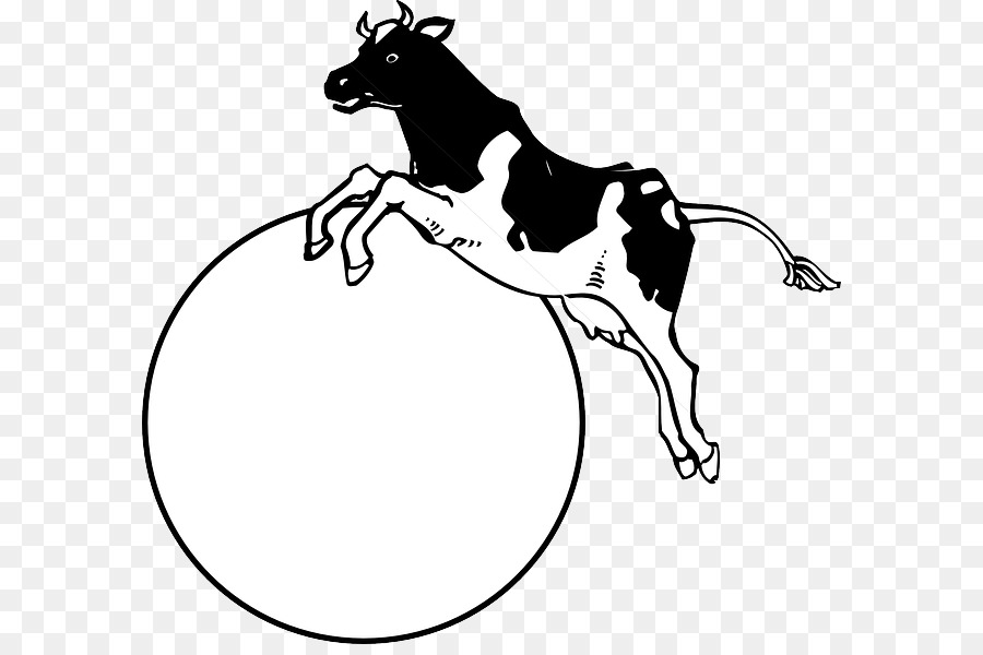 cow jumping over the moon clip art clipart Cattle Drawing Clip art