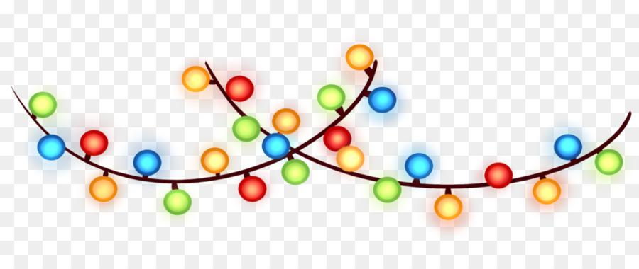 Christmas Lights Circle