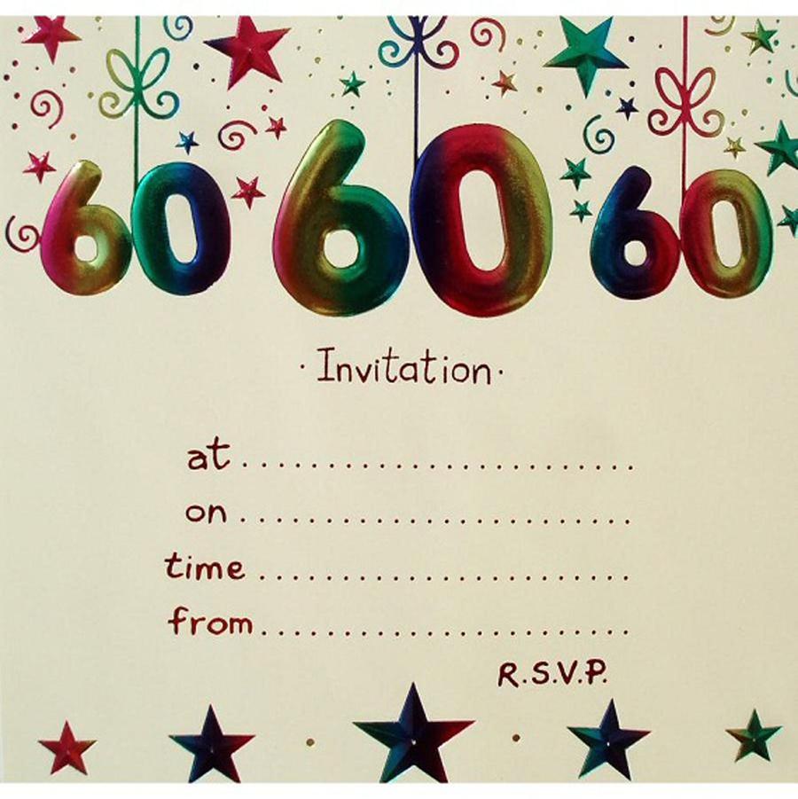 Download 60 Birthday Invitation Templates Free Clipart Wedding