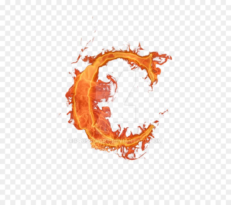 fire letter c png clipart Letter C