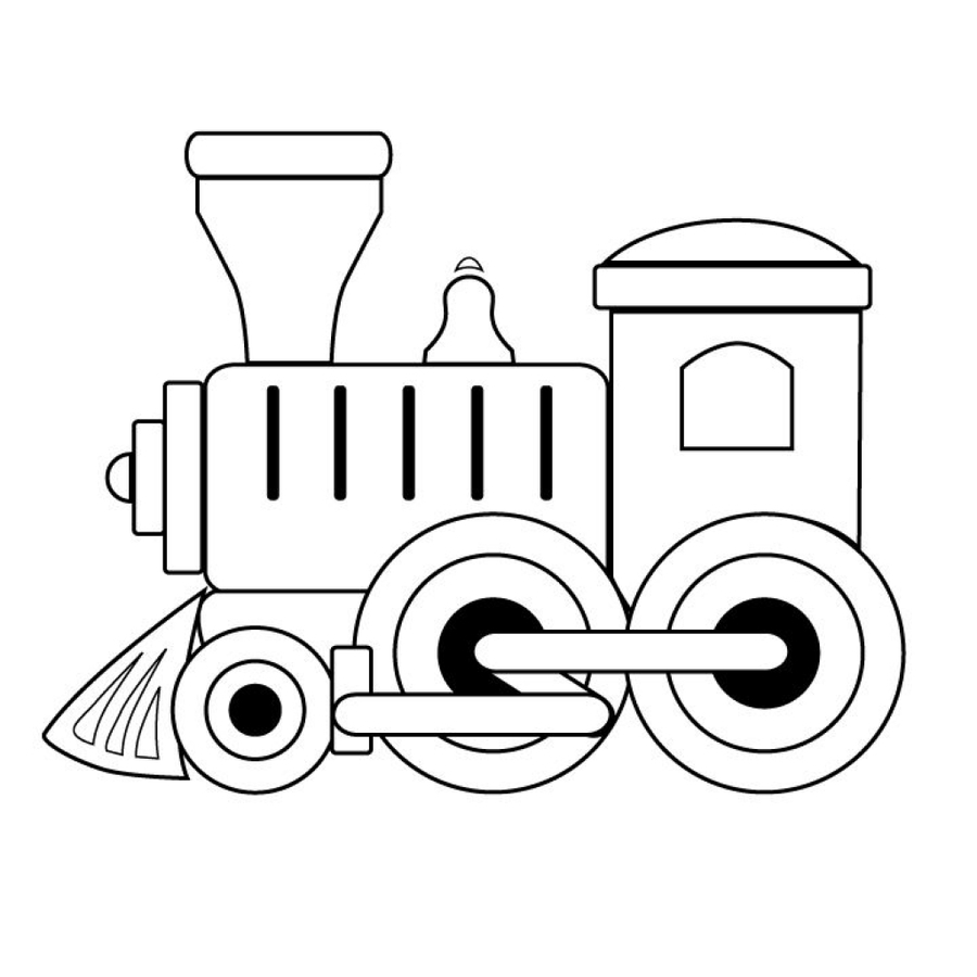 Download train engine coloring pages clipart Train Rail transport ...