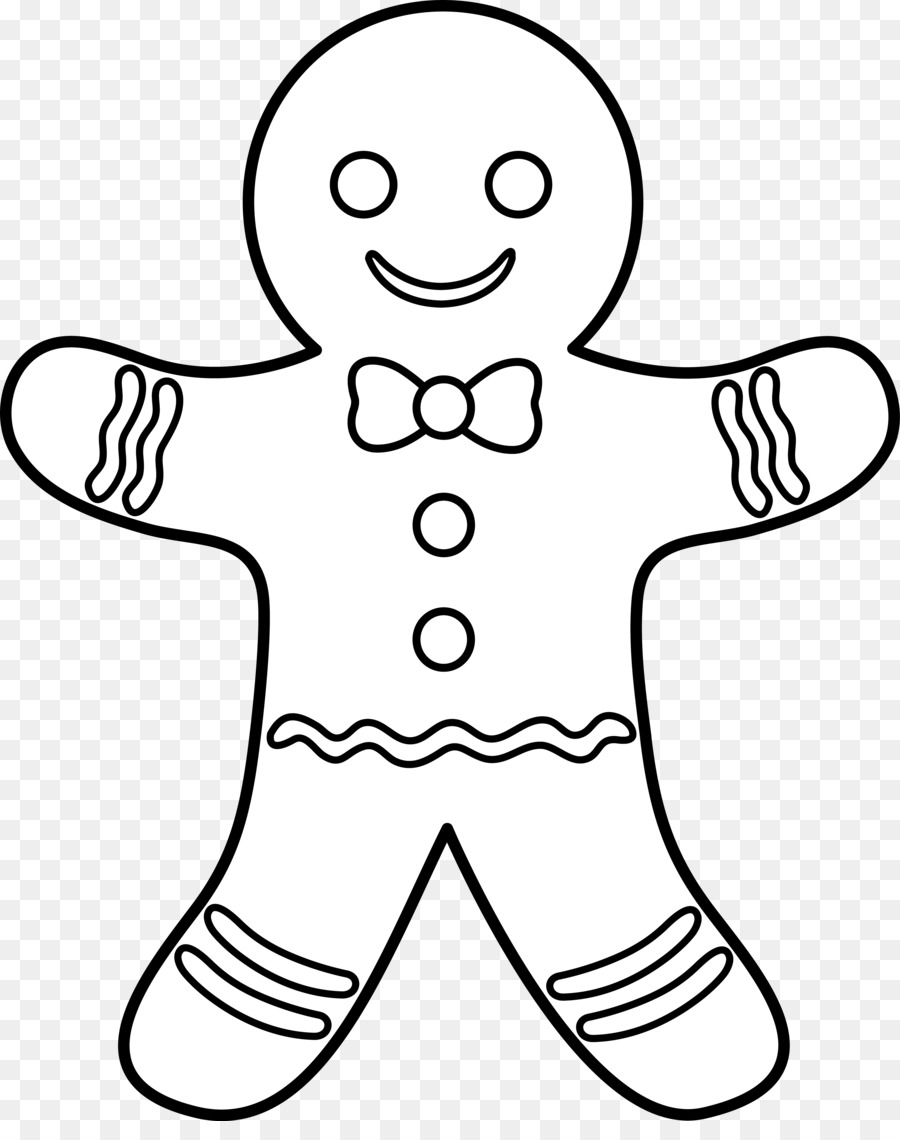 gingerbread man coloring pages clipart The Gingerbread Man Colouring Pages