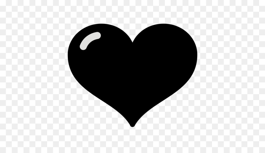 Emoji Black And White Clipart Heart Emoji Silhouette