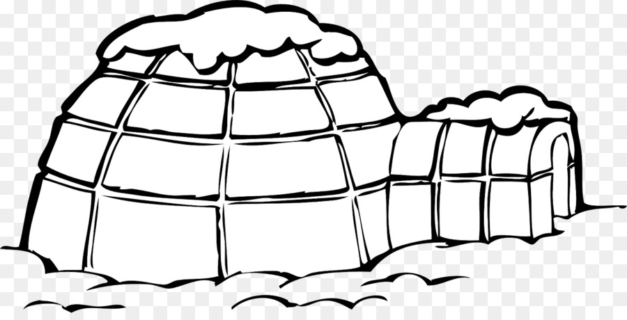 House Cartoon Clipart Igloo House Design Transparent