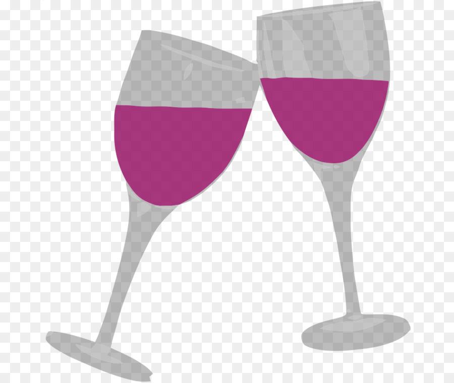 Grape Cartoon Clipart Wine Cocktail Glass Transparent Clip Art