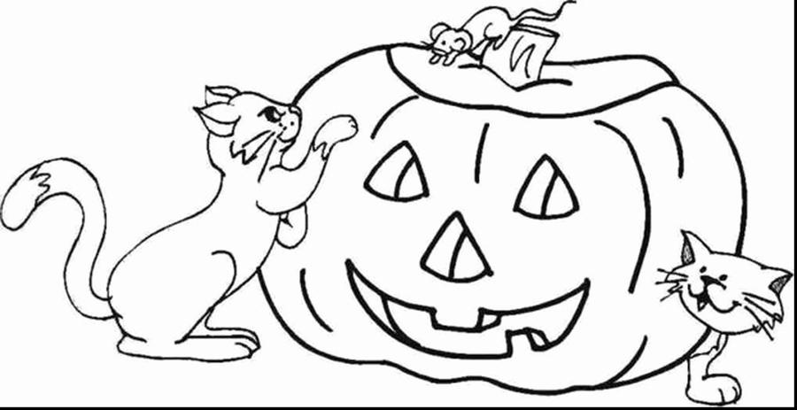 Download dia de halloween para colorear clipart Halloween Pumpkins ...