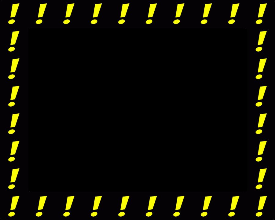 Black Background Frame