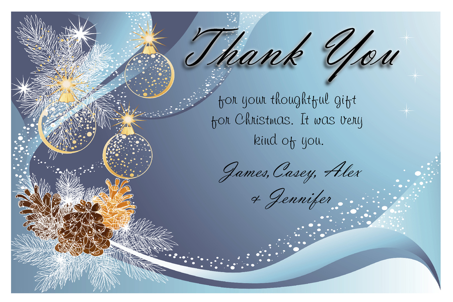 Download thank you cards for christmas presents clipart Santa Claus ...