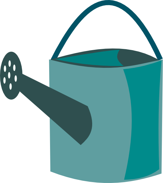water can clipart Clip Art-Holidays Watering Cans Clip art