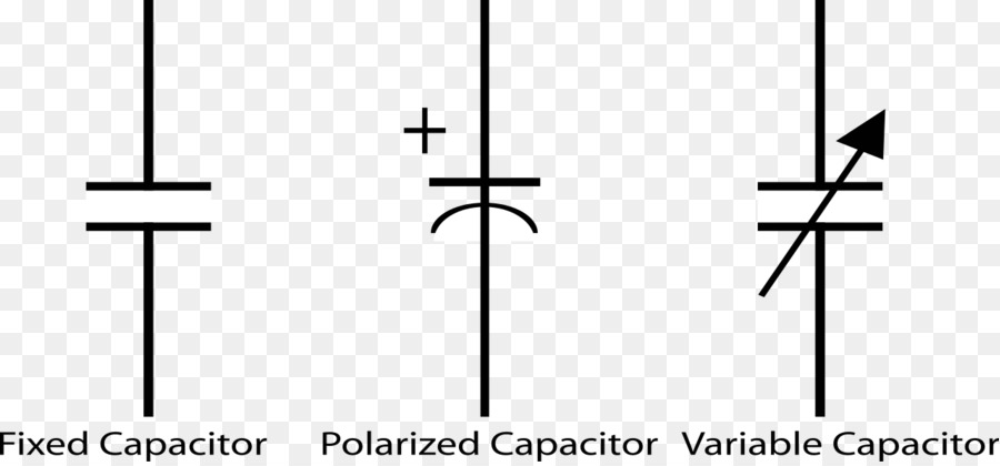 Download capacitor symbols clipart Capacitor Electronic symbol ...