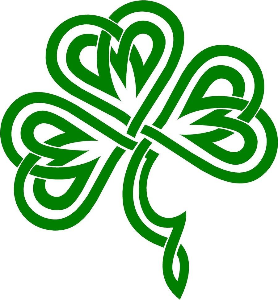 Download Irish Clover Clipart Shamrock Four Leaf Clover Clip Art