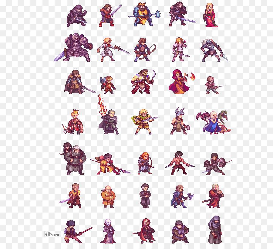Pixel Art Clipart Game Purple Font Transparent Clip Art