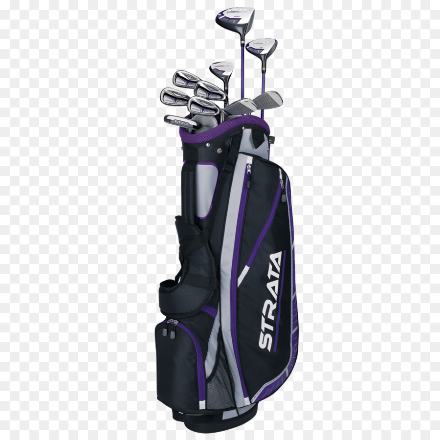 Golf Club Background Clipart Golf Purple Product Transparent Clip Art