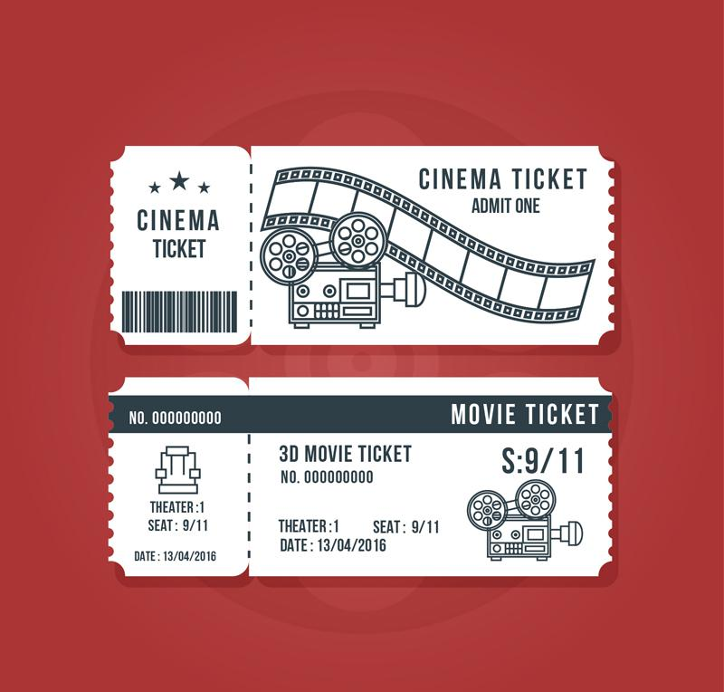 Clipart Resolution 800 764 Movie Ticket Template Clipart Event