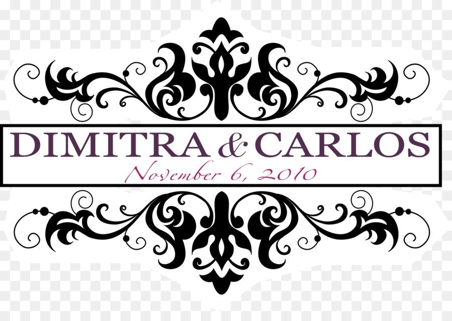 Wedding Invitation Design Clipart