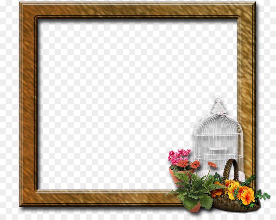 Flower Background Frame