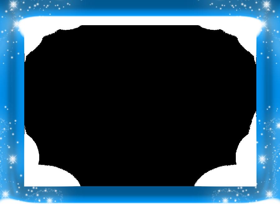 Light Background Frame Clipart Blue Text