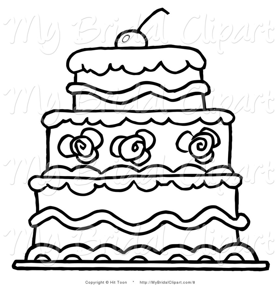 Download coloring cake clipart Cupcake Coloring book Birthday cake ...
