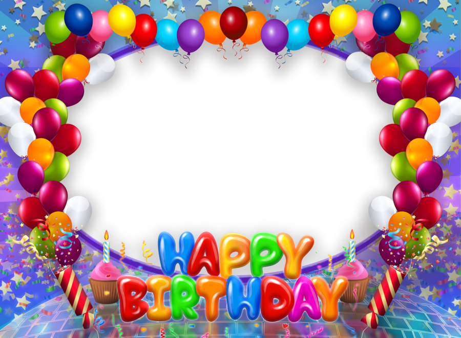 Download happy birthday frame clipart Birthday Picture Frames ...