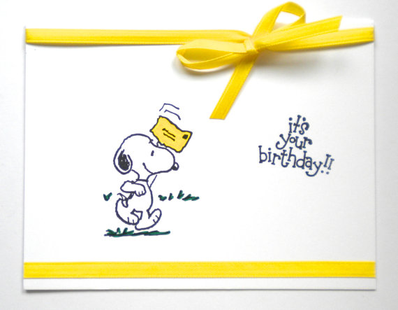 Free Download Snoopy Happy Birthday Card Clipart Paper Charlie Brown It Comes With Full Background Resolution Of 570443