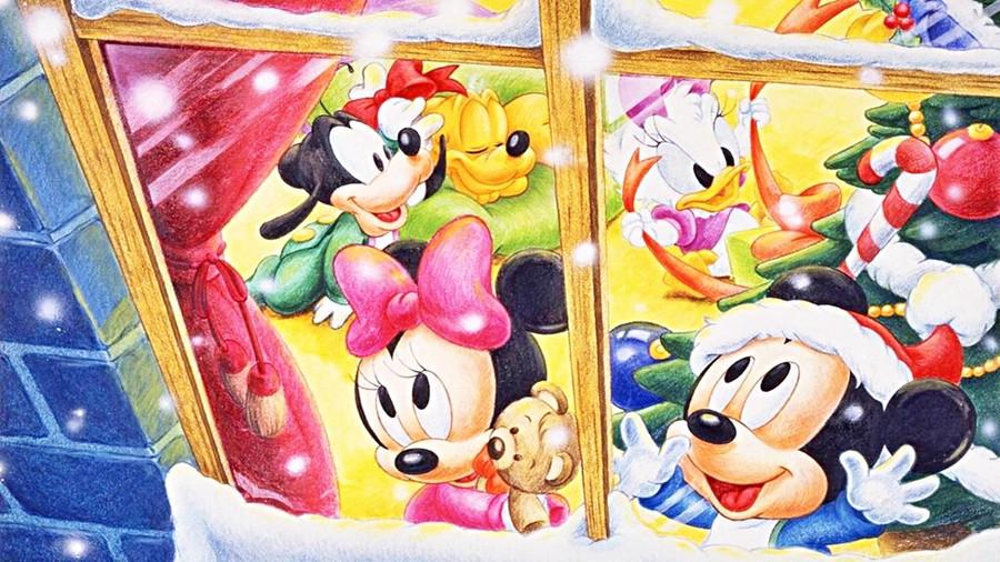 Baby Disney Christmas Clipart Olaf Mickey Mouse Desktop Wallpaper