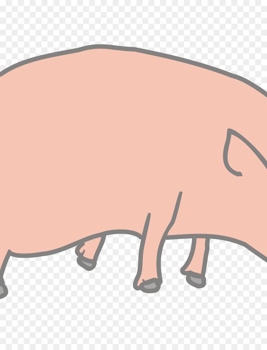 Pig Cartoon Clipart Pig Nose Hand Transparent Clip Art