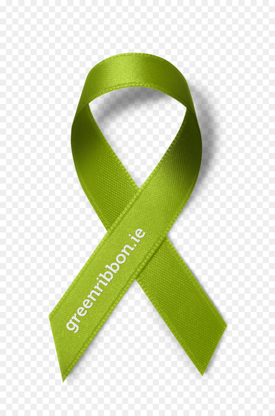 Green Background Ribbon