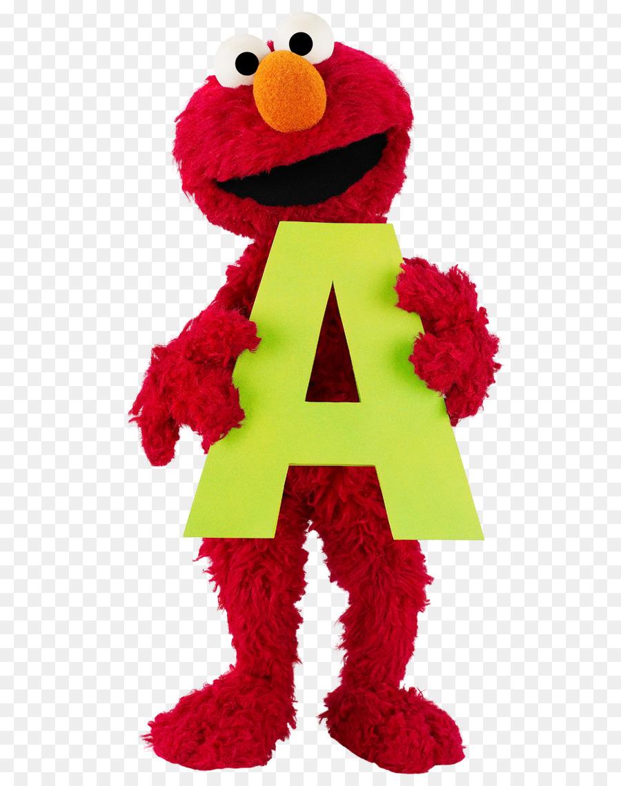Sesame Street Clipart Elmo Red Transparent Clip Art