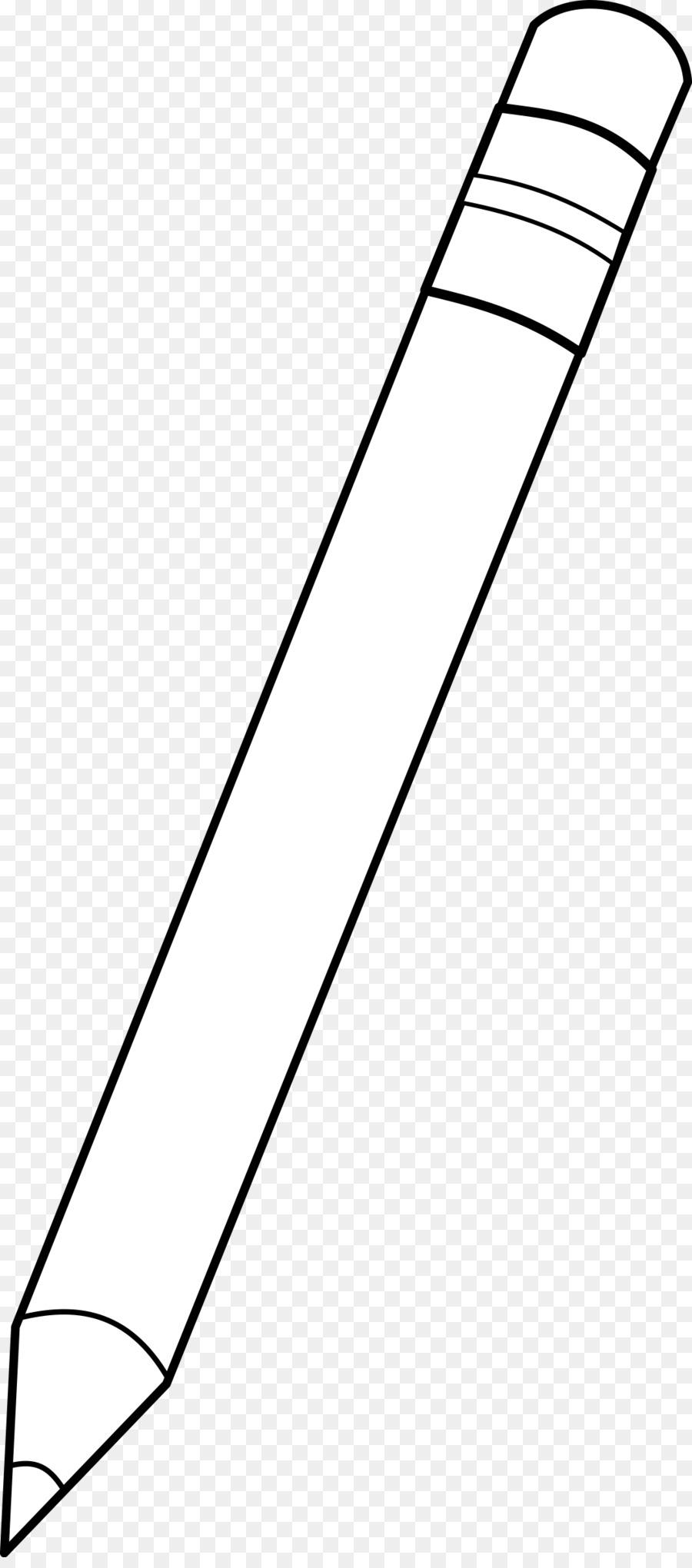 Pencil white. Cliparttransparent png image clipart