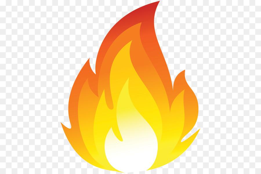 Fire emoji. Clipart flame transparent clip