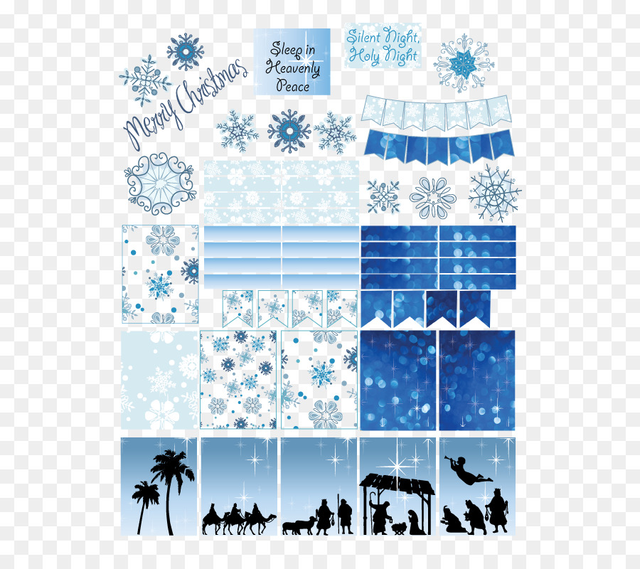 Line Sticker Christmastransparent png image & clipart free