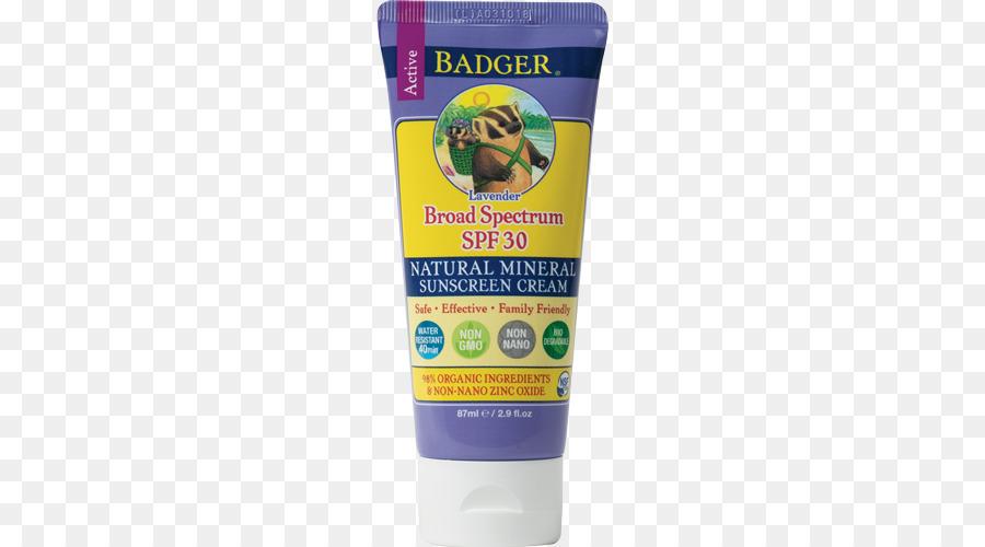 badger sunscreen clipart Sunscreen Lip balm Factor de protección solar