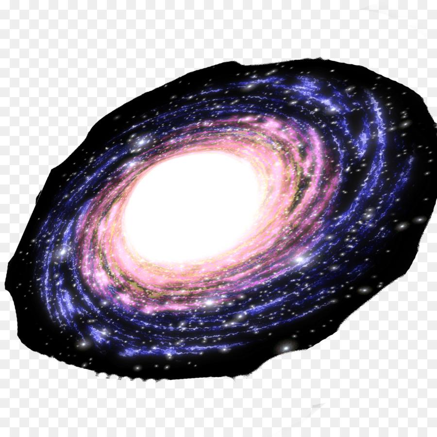 Milky way galaxy. Background clipart purple spiral