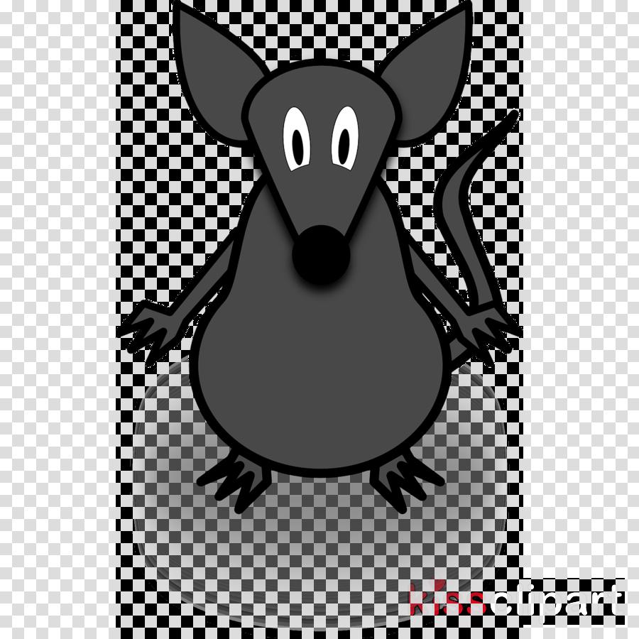 卡通鼠标挂钟剪贴画电脑鼠标鼠