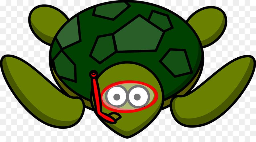 Sea Turtle Background Clipart Turtle Cartoon Illustration