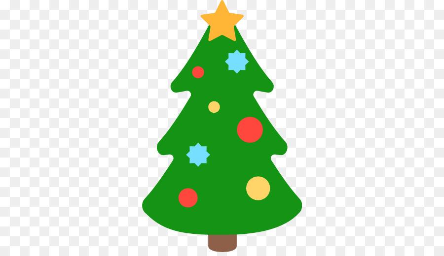 Christmas Tree Emoji clipart - Emoji, Tree, Emoticon