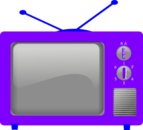 Телевизор для детей в картинках