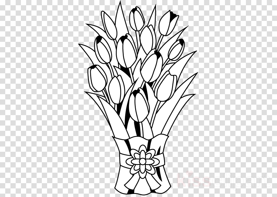 Flower Drawing Rose Transparent Png Image Clipart Free Download