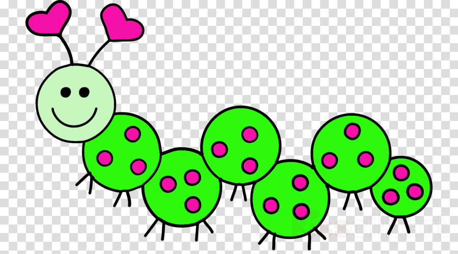 Butterfly Caterpillar Green Transparent Png Image Clipart Free