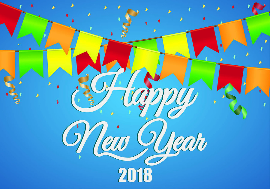 happy new year 2018 wishes clipart wish new years day