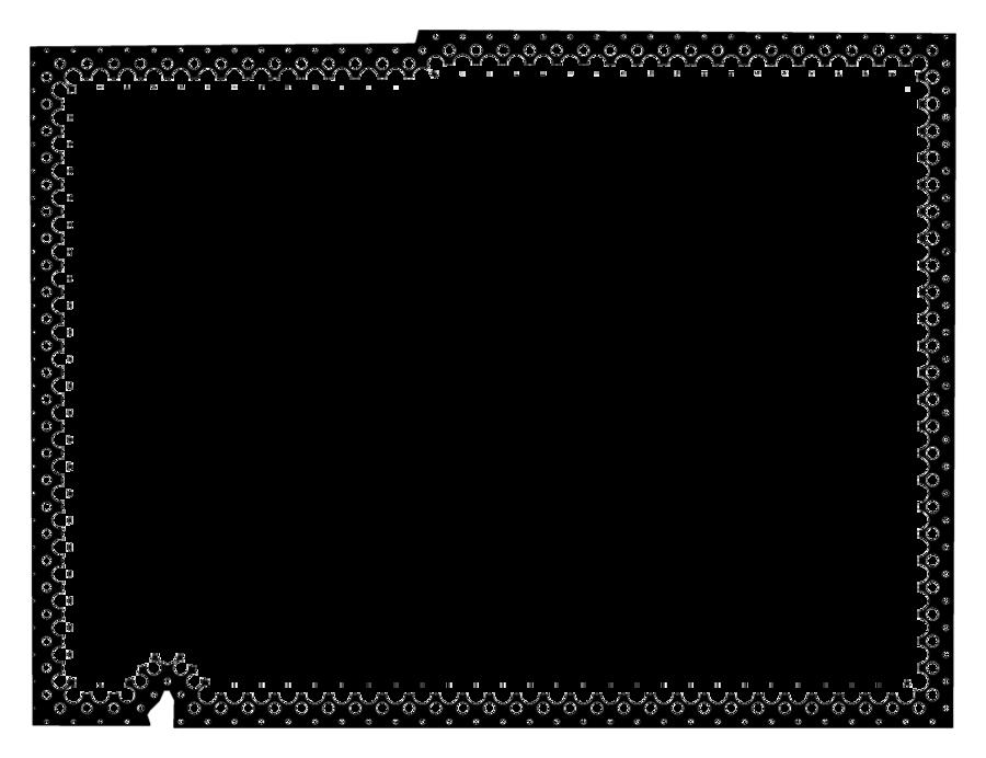 Border Design Black And White clipart - Pumpkin, Text, Map ...